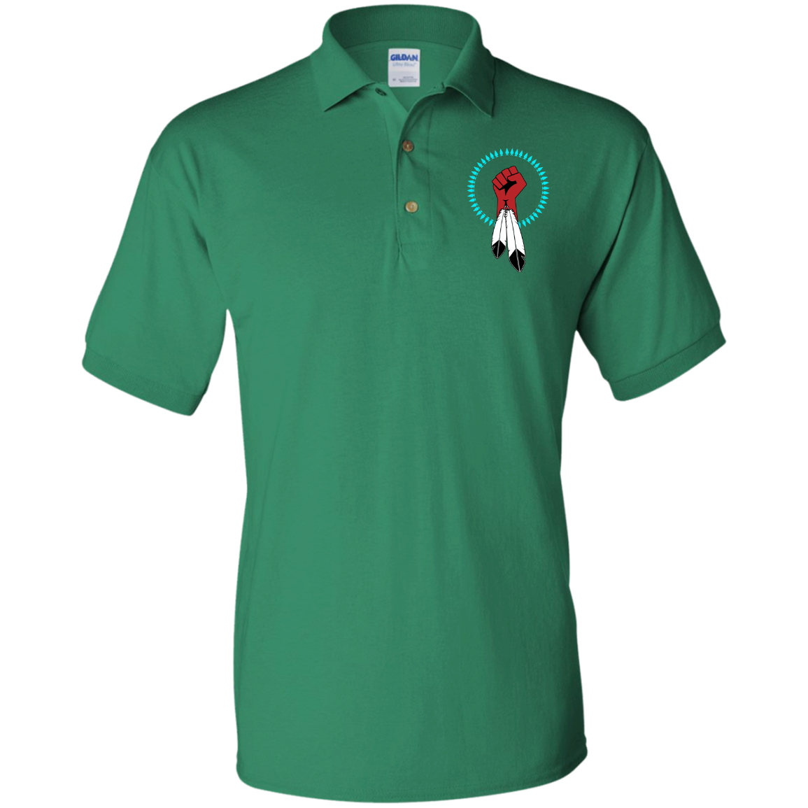 N8V MOVEMENT Gildan Jersey Polo Shirt
