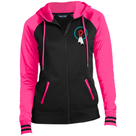 N8V MOVEMENT Women's Sport-Wick Full-Zip Hooded Jacket