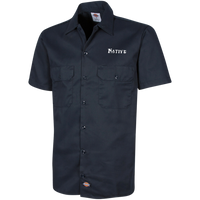 Native Dickies Men's Short Sleeve Workshirt