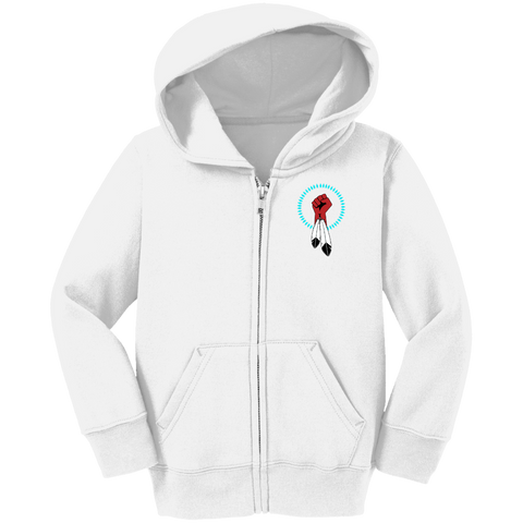 N8V MOVEMENT Toddler Full Zip Hoodie