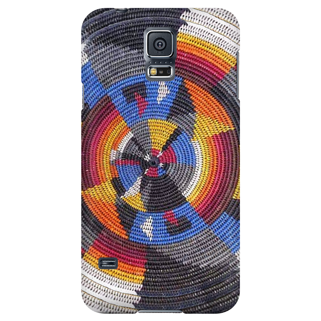 Navajo All The Colors Basket Phone Cover