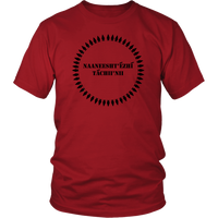 CHARCOAL STREAKED DIVISION RED RUNNING INTO THE WATER CLAN Shirt Unisex