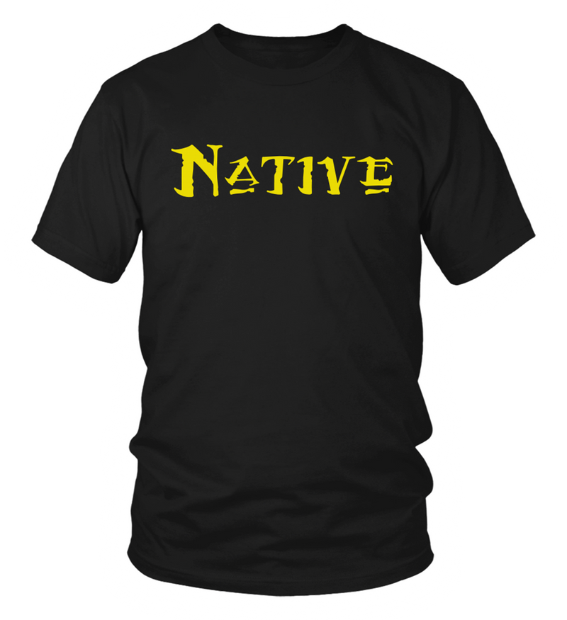 Native Yellow T-Shirt