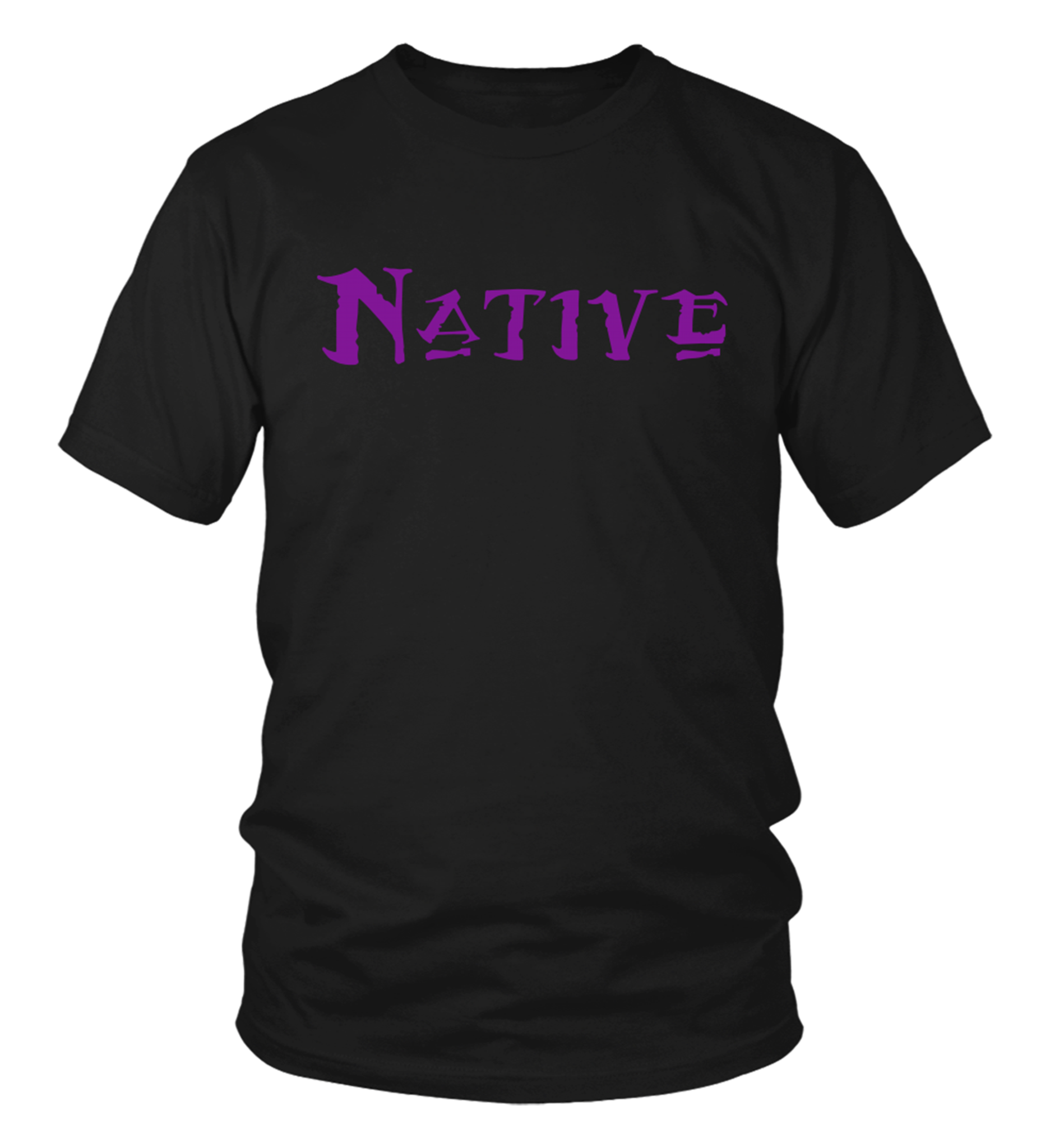 Native Purple T-Shirt