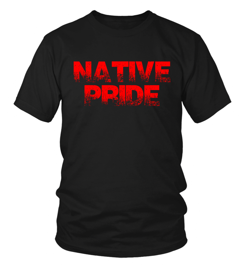 Native Pride Red T-Shirt