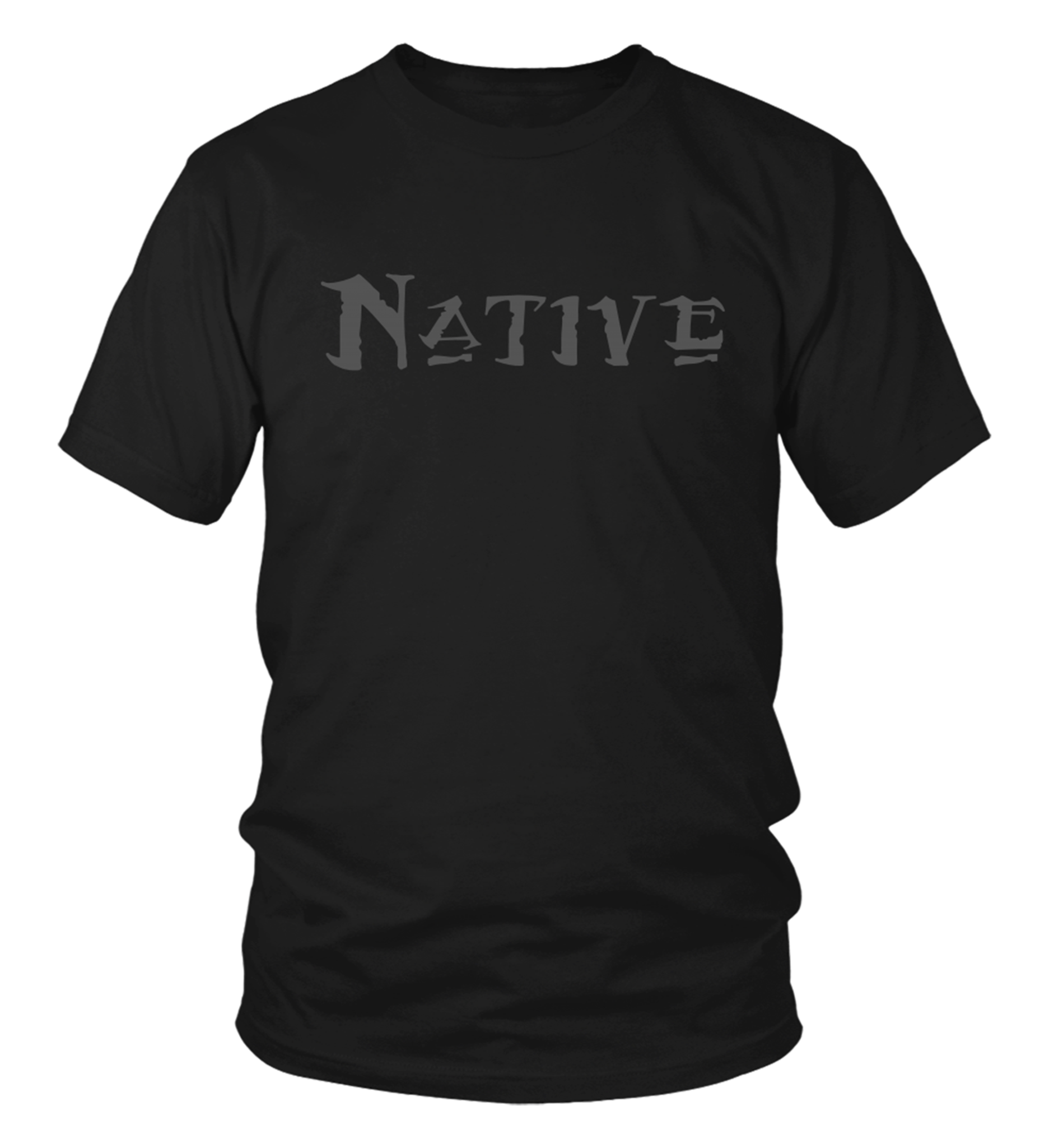 Native Gray T-Shirt