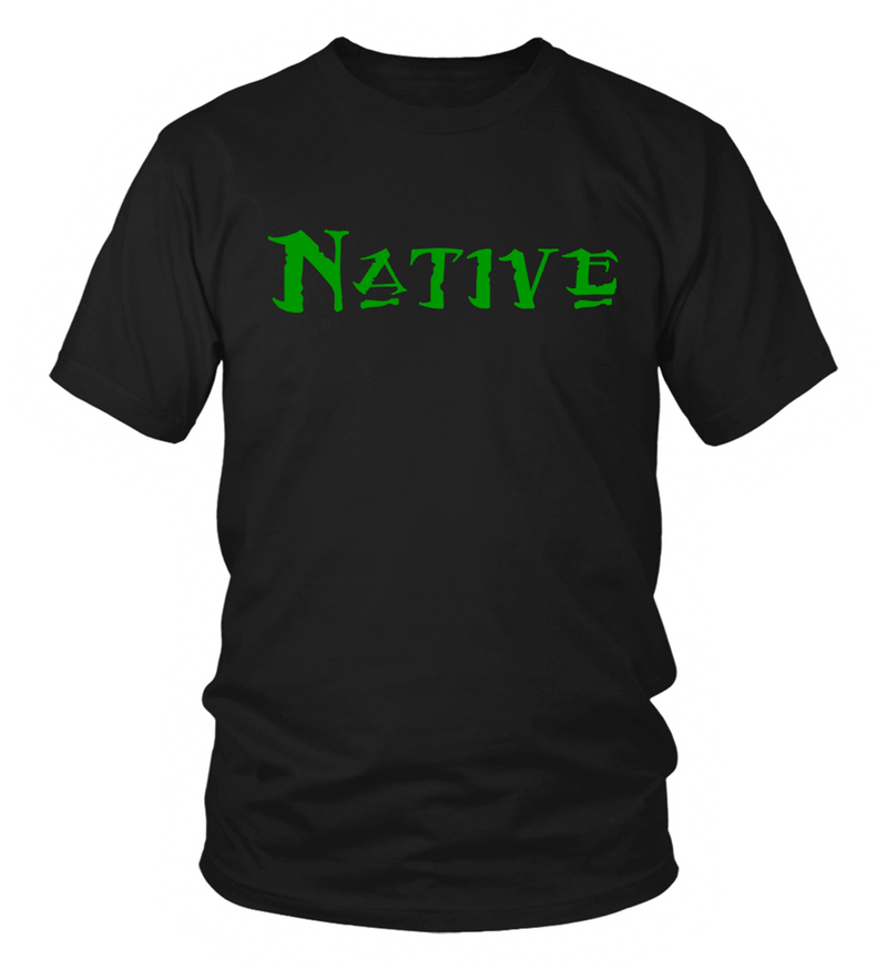 Native Green T-Shirt