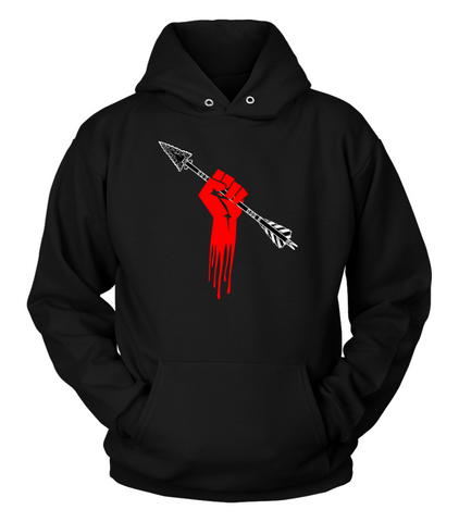 Hand and Arrow Hoodie