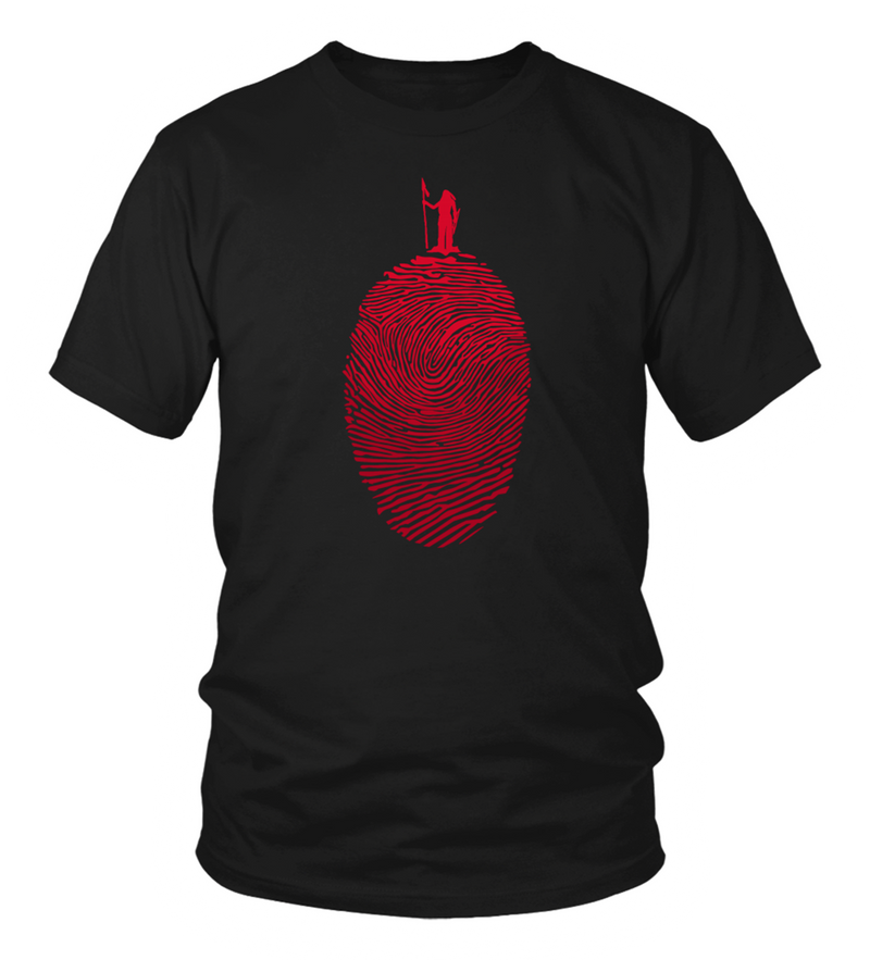 Native Fingerprint T-Shirt