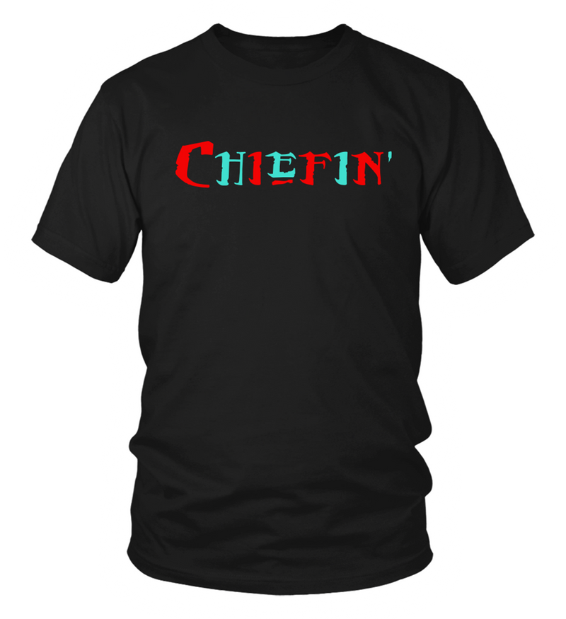 Chiefin' Red/Turquoise T-Shirt