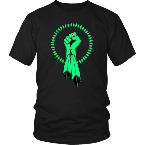 N8V MOVEMENT glow in the dark shirt