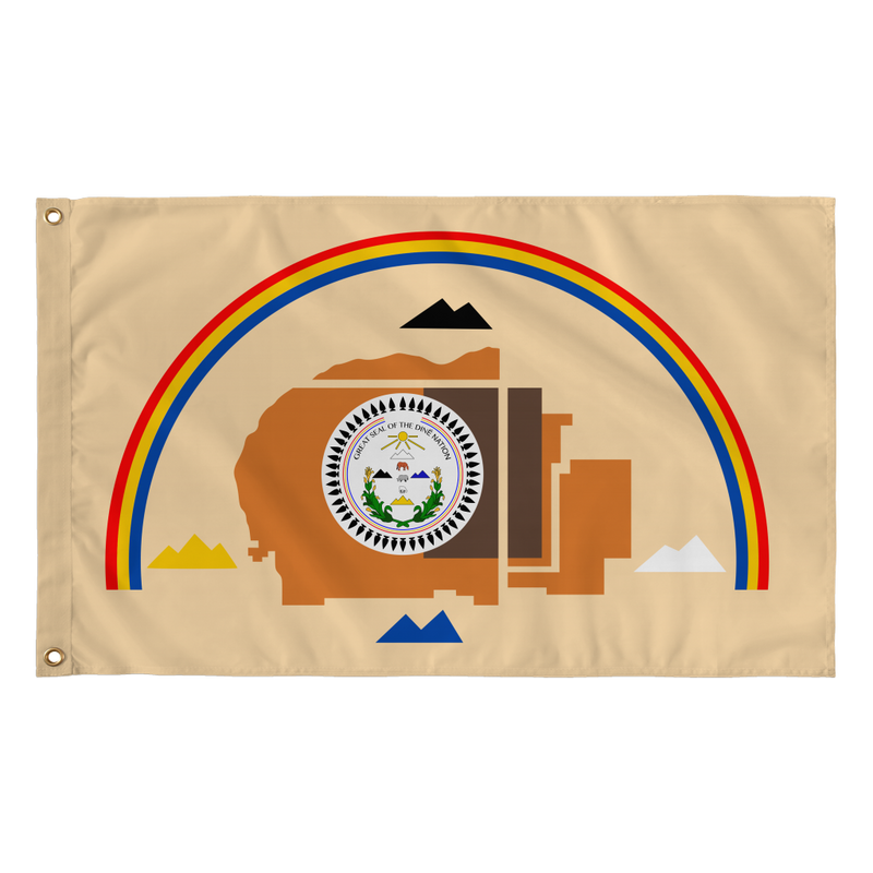 Diné Nation Flag 2 in 1
