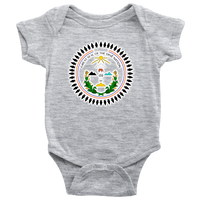 Diné Nation SEAL BABY ONESIE