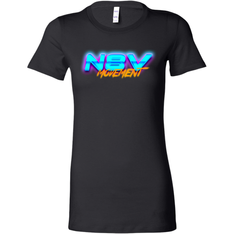 N8V Movement 80's Bella Shirt