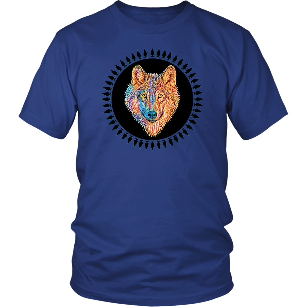 ANIMAL DESIGN WOLF Shirt Unisex