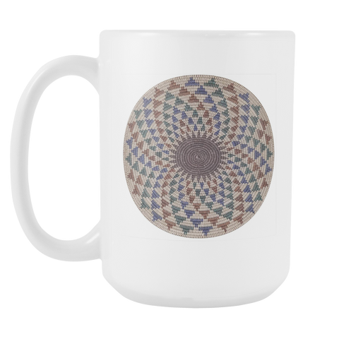 Native Basket 15oz Mug