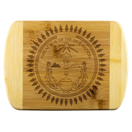 Great Seal of the Diné Nation Bamboo Cutting Board