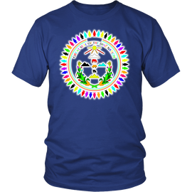 Diné Nation Seal Many Colors Shirt
