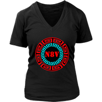 N8V NAVAJO WOMENS V-NECK SHIRTS