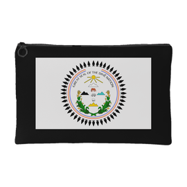 Diné Nation Seal Accessory Pouch