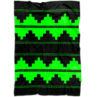 CUSTOM NAVAJO FLEECE GREEN