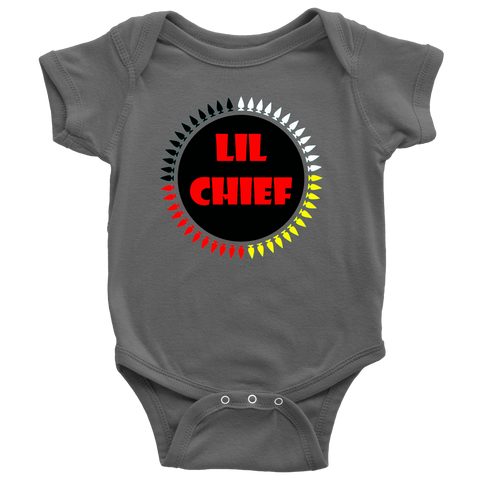 BABIES LIL CHIEF BY N8V ACE ONESIES