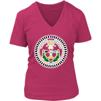 WOMENS Diné Nation Seal V-Neck shirt