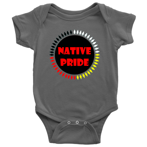 BABIES NATIVE PRIDE BY N8V ACE ONESIES