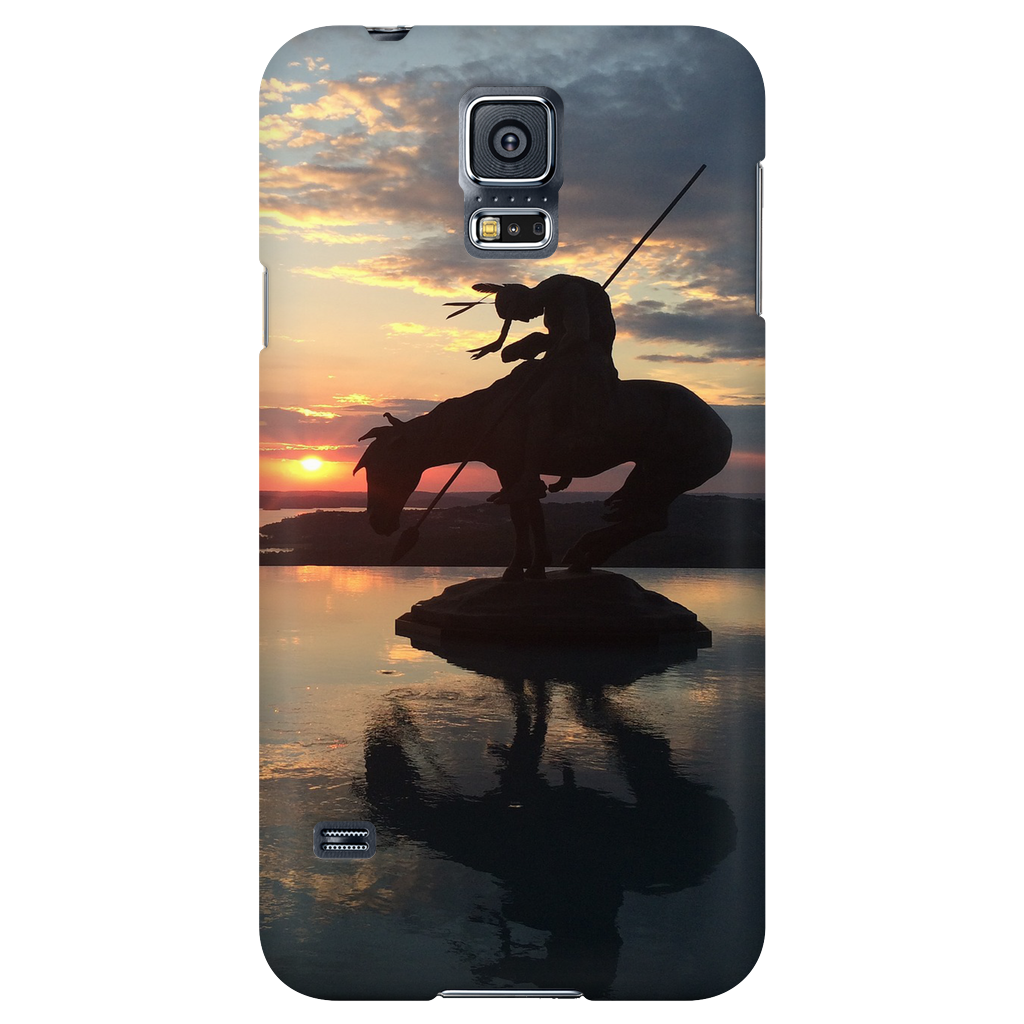 Native on Horse Phone Cover