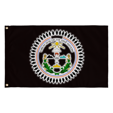 Diné Nation Seal Flag