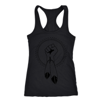 N8V MOVEMENT Transparent Racerback Tank Top
