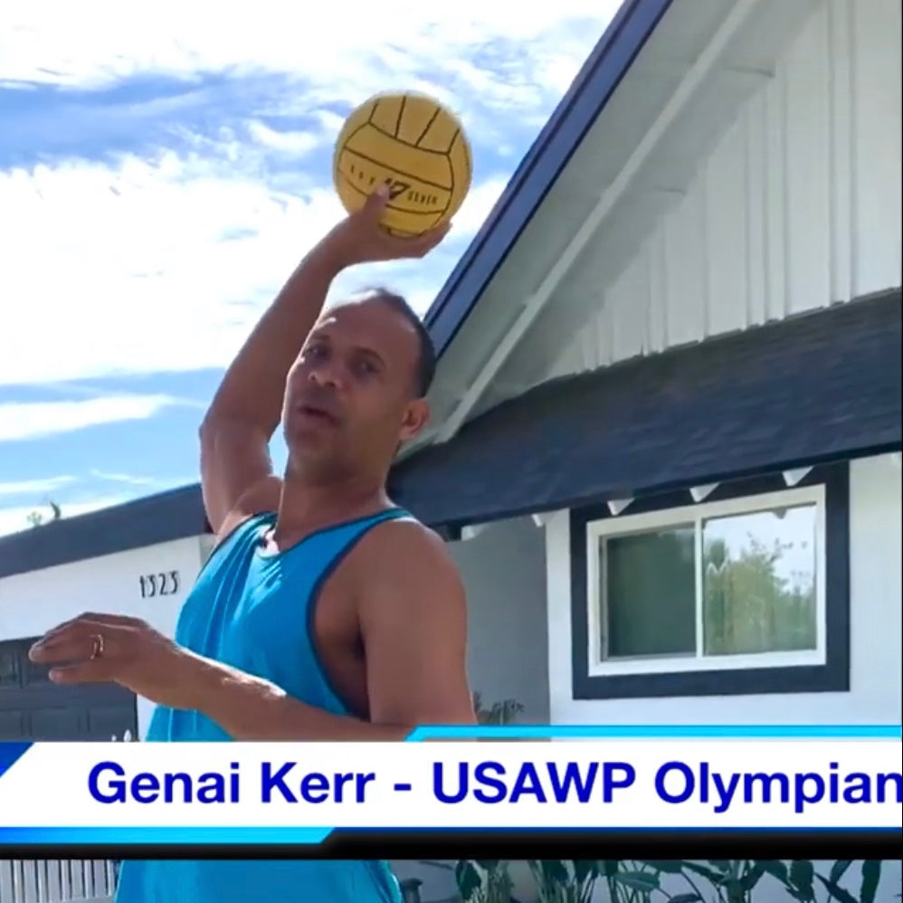 USA Water Polo Olympian Genai Kerr Home Workout Tips