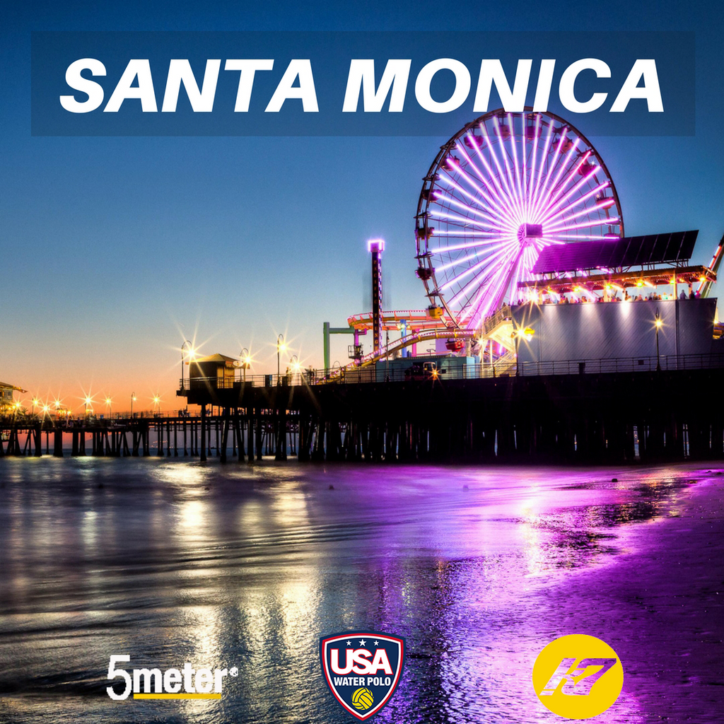 Santa Monica, California 5meter Water Polo Camps