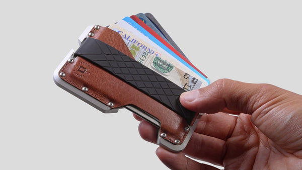 Dango TACTICAL EDC Wallet - Genuine Leather, Multitool, RFID Block (Made in USA) - CaseMotions