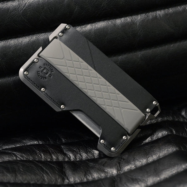 Dango DAPPER EDC Wallet - Limited BATWING GREY, RFID Block (Made in USA) - CaseMotions