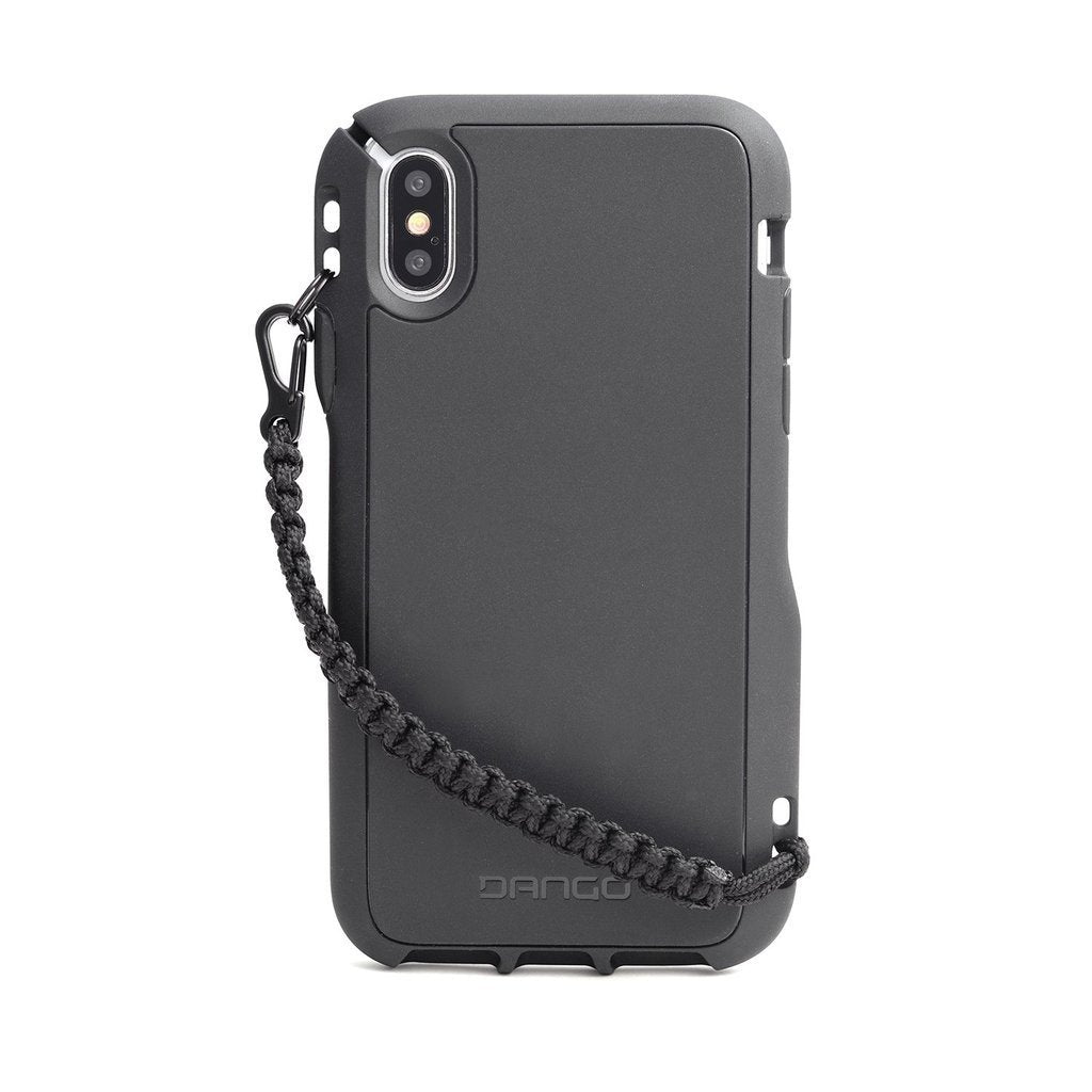 best loved 68cc1 834e4 Dango COVERT Rugged Case For iPhone X - w/ Paracord Lanyard