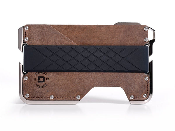 Dango D02 DAPPER EDC Wallet - Nickel Plated, Multitool, RFID Block (Made in USA) - CaseMotions