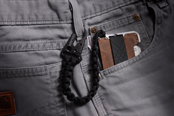 Dango DAPPER EDC Wallet - Genuine Leather, Multitool, RFID Block (Made in USA) - CaseMotions