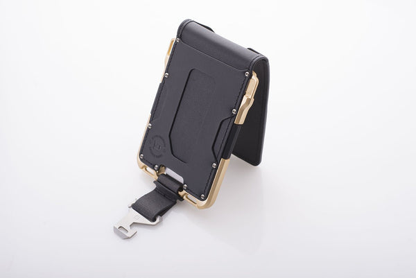Dango M007 Limited Edition- Maverick Wallet - Gold  (Made in USA) - Element Case, Dango, EDC, STM, iPhone Case, table case