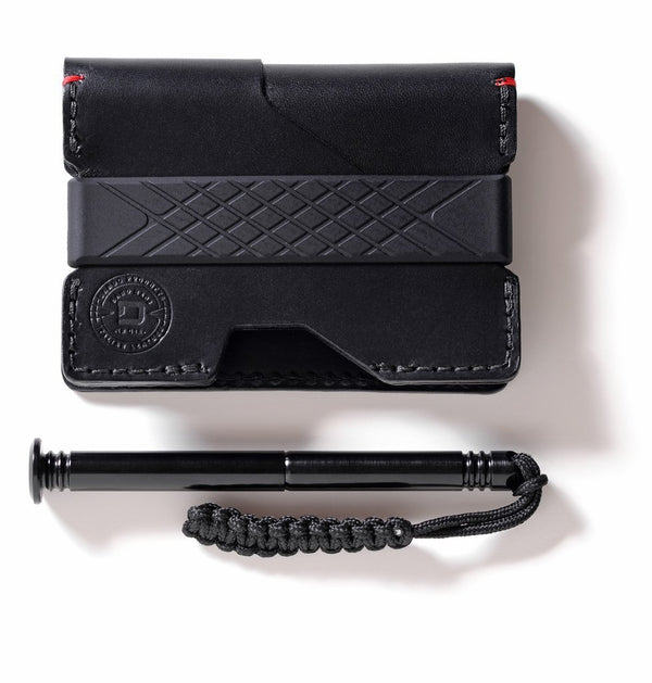 Dango P01 PIONEER Wallet (Made in USA)- PEN & Notebook, RFID Block - Element Case, Dango, EDC, STM, iPhone Case, table case