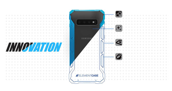 Element Case RALLY Case for Samsung S10, S10+, S10e - Element Case, Dango, EDC, STM, iPhone Case, table case