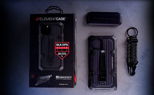 Element Case BLACK OPS ELITE Case for iPhone 11 Pro, iPhone 11 Pro Max (2019) Holster option available - Element Case, Dango, EDC, STM, iPhone Case, table case