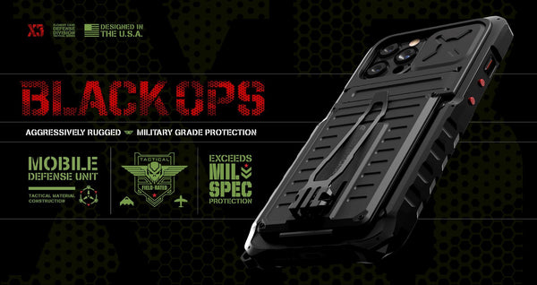 Element Case BLACK OPS  iPhone 12 Pro Max (2020) - CaseMotions