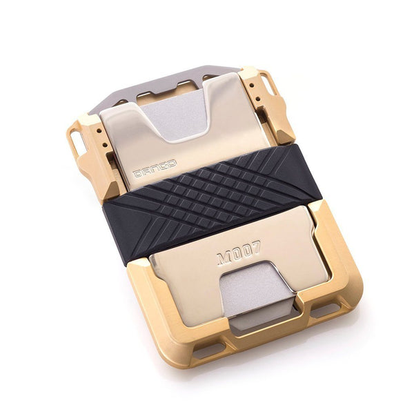 Dango M007 Limited Edition- Maverick Wallet - Gold  (Made in USA) - CaseMotions