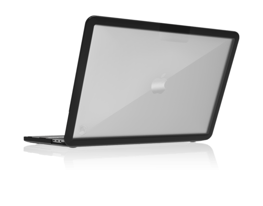 STM DUX MacBook Pro 13″ 2016-2020 - 2 colors (Black & Clear) - CaseMotions