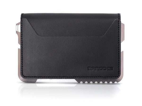 Dango T02 Titanium Tactical Wallet 3 Pocket BiFold - RFID Block (Made in USA) - CaseMotions