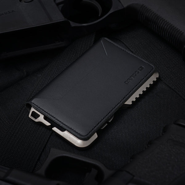 Dango T02 Titanium Tactical Wallet 3 Pocket BiFold - RFID Block (Made in USA) - Element Case, Dango, EDC, STM, iPhone Case, table case