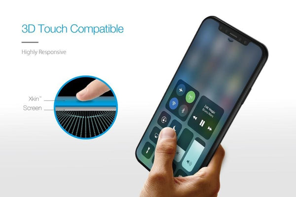 Just Mobile XKIN ULTRA-TOUCH Glass Screen Protector For iPhone X - CaseMotions