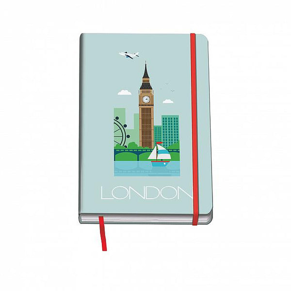 Cuaderno Vesta City - Tamaño A5 - London