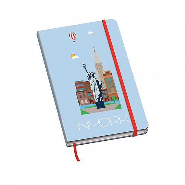 Cuaderno Vesta City - Tamaño A5 - New York